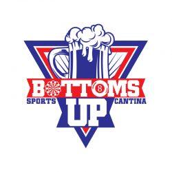 logo-design-vector-branding-identity-color-pallet-bottoms-up-sports-cantina