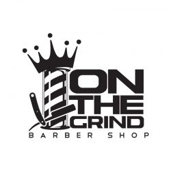 logo-design-vector-branding-identity-color-pallet-on-the-grind-barber-shop