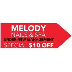 signs-yard-sign-directional-safety-large-format-a-frame-sidewalk-sign-business-sign-Melody-nails-nail-salon